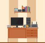 家庭工作室书桌