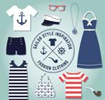 海军风格服饰