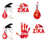 蚊子卡通矢量