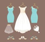 婚纱和伴娘服