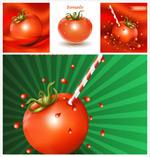 卡通番茄蔬菜