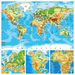 世界版图地理