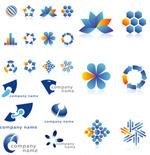 双色图案公司logo