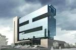 现代办公楼模型