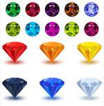 钻石珠宝首饰模板