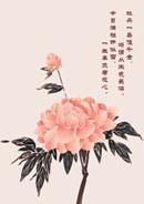 中国风牡丹