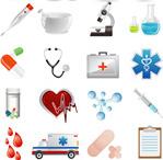 医疗用品图标