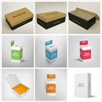 包装盒设计矢量