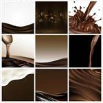 咖啡巧克力矢量
