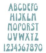 英文字母设计矢量