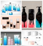 化妆品包装矢量