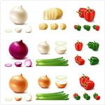 食物蔬菜矢量