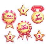 销售奖牌和徽章