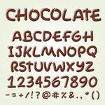 巧克力字母与数字