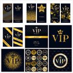 VIP邀请函矢量