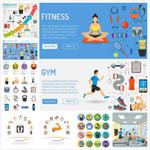 健康运动图示
