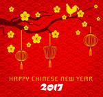 中国新年背景