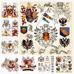 皇室徽章素材