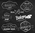 面包店标签