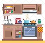 温馨厨房设计