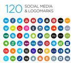 社会化媒体LOGO