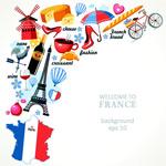 法国旅游主题