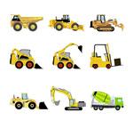 工程运输车辆图标