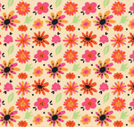 花朵无缝背景