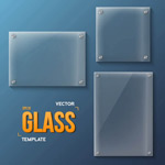 时尚透明玻璃