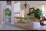 家居休闲厅模型