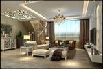 宽敞客厅模型