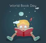 世界读书日贺卡