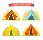 夏季野营帐篷