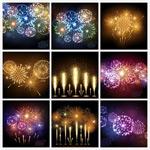 节日庆典烟花焰火