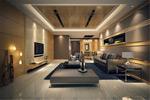 精致客厅模型
