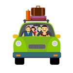 旅游交通矢量