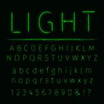 灯效字母与符号