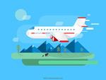 飞机出差旅游