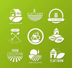 农场标志矢量
