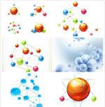 化学分子矢量