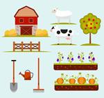 农场庄园元素