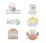 素雅餐厅标志