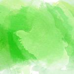 绿色墨迹背景