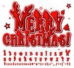 圣诞节字母
