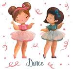 跳芭蕾的女孩