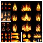 火焰矢量素材