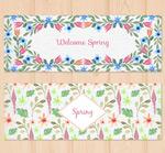 春季花卉banner