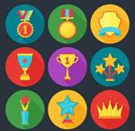 奖牌和奖杯图标