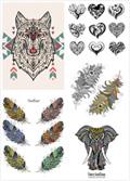 纹身图案矢量3