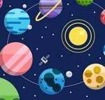 太空星球插画